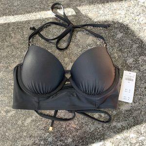 Abercrombie Black 34C Bikini Top